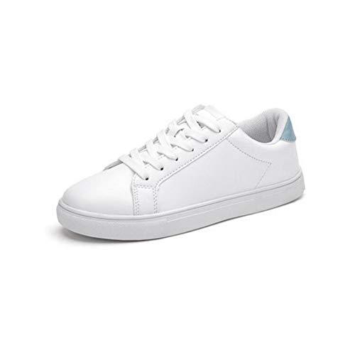 Blue Planos Salvajes Estudiante EU36 Zapatos CN35 del Blancos Size Zapatos FH Color Zapatos UK3 5 pequeños Coreanos qIYOPw