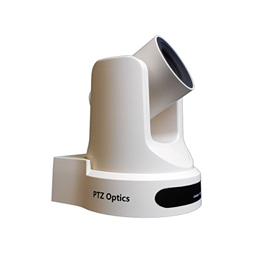 PTZOptics-20X-SDI GEN-2 PTZ IP Streaming Camera with Simultaneous HDMI and 3G-SDI Outputs - White