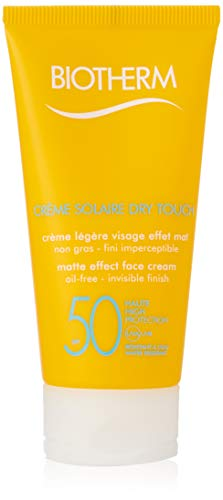 Biotherm Creme Solaire Dry Touch UVA/UVB Matte Effect Face Cream, SPF 50, 1.69 Ounce
