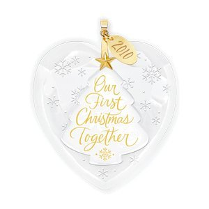 Amazon.com: Our First Christmas Together 2010 Hallmark Ornament ...