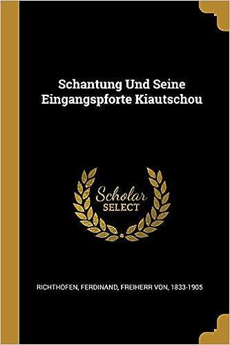 Kiautschou (German Edition)