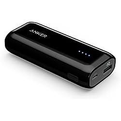 Anker Batteria Esterna Portatile da 5200 mAh Astro E1 - Power Bank Tascabile Ultra compatto con Tecnologia PowerIQ per iPhone, iPad, Samsung, Nexus, HTC e altri