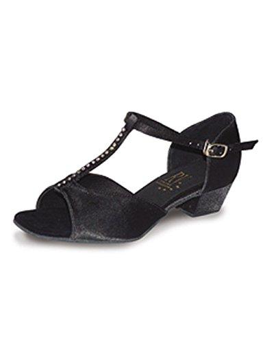 Ballroom Schuhe, T-förmig, Mädchen, Satin, mit Strass-Roch Valley JENNY