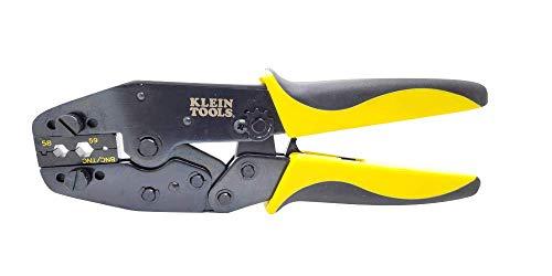 Rg58 Crimp Tool - Coax Cable Crimper with Klein Ratchet Tool for RG58 / RG59, BNC/TNC