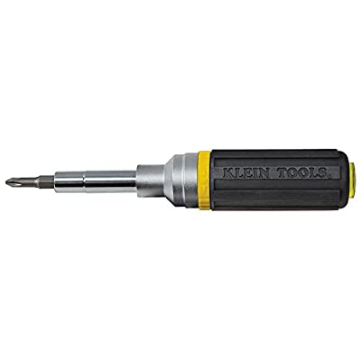 Klein Tools Ratcheting Multi-Bit Screwdriver/nut Driver