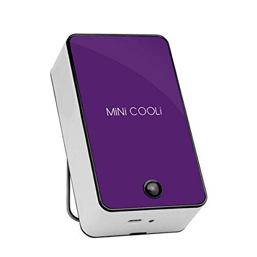 Hzhy Leafless Fan Grafting Planted False Eyelashes Blow Dryer Mini Handheld Usb Fan Charging Leafless Blower (Color : Elegant Violet)