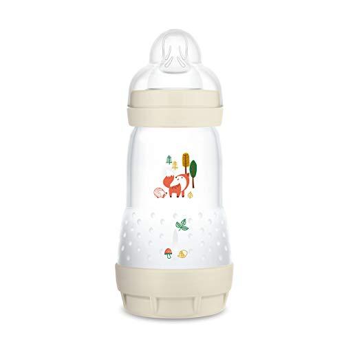 MAM Easy Start Anti-Colic Elements babyfles (260 ml), ideale drinkfles in combinatie met borstvoeding, MAM fles met…