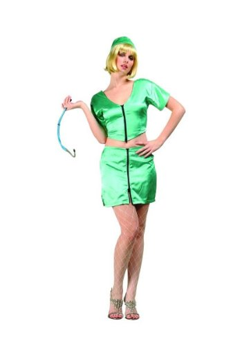 [RG Sexy Spicy E.R. Surgeon Halloween Costume Dress Adult Small Green] (Spicy Surgeon Costumes)