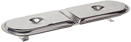 (Music City Metals 12082 Stainless Steel Burner Head Replacement for Select Gas Grill Models by Charbroil, Master Chef and Others)