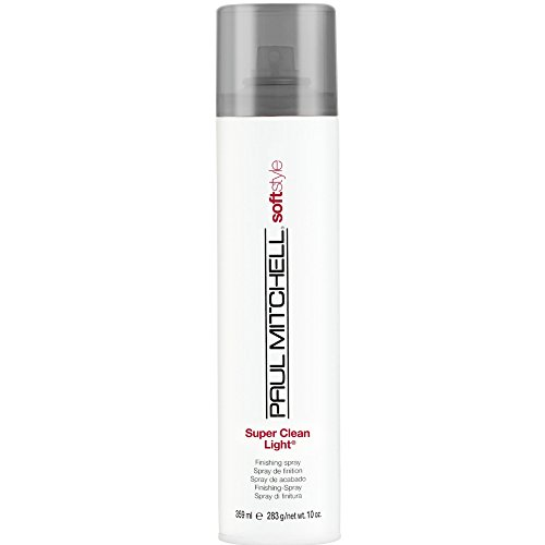 Paul Mitchell Soft Style Super Clean Light Hairspray, 10 oz