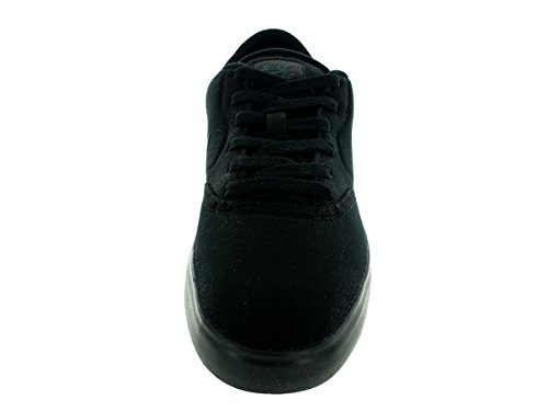 Nike SB CHECK Canvas Herren Skateboardschuhe Schwarz / Anthrazit