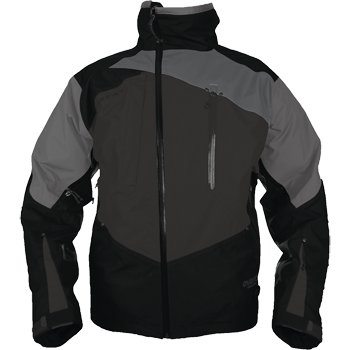 Motorfist Black/Stealth/Gray Snowmobile Jacket 2XL 20593-8122
