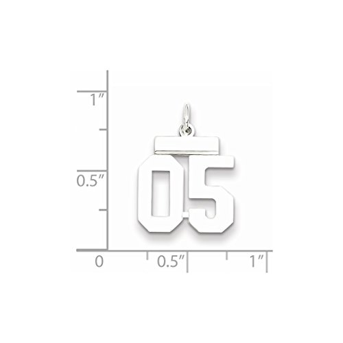 925 Number 05 Pendant Jewelry For Set