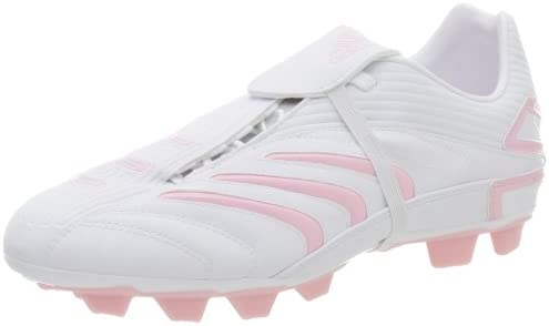 adidas Mujer + Absolado TRX FG Zapato de fútbol, Blanco ...