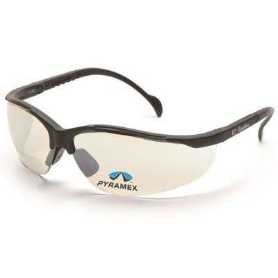 Pyramex Safety Glasses - Venture Ii Bifocal Safety Glasses - Indoor/Outdoor Lens - +1.5 Lens by Pyramex Safety Glasses