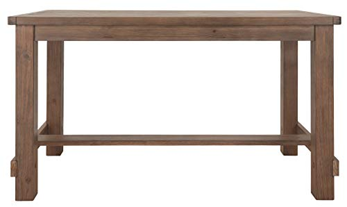 Ashley Furniture Signature Design - Pinnadel Counter Dining Table - Weathered Brown Finish w/ Gray Undertones by Signature Design by Ashley (Image #9)
