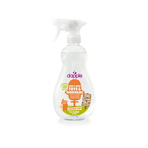 Dapple Natural Toy & Highchair Spray - Fragrance Free-Fragrance Free-16.9 (Dapple Natural)