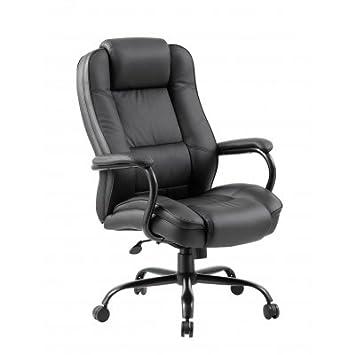 Amazoncom Boss Office Products B992 BK Heavy Duty Executive