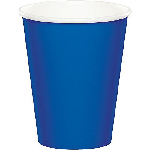 Blue 9 Oz Paper Cups - Celebrations 96-Count 9 oz. Hot/Cold Cups, Cobalt