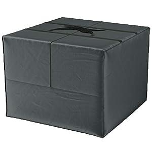 Bolsa de almacenamiento Deluxe XXL (80 x 80 x 60 cm) y funda protectora para cojines de jardín, de poliéster 420D