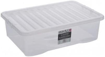 Caja de almacenaje Fusion 32L caja bajo cama: Amazon.es: Hogar