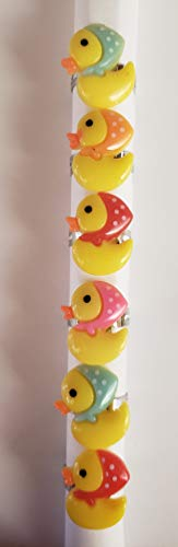 Duck Party Favors - Tiny Ducklings Rings - 12 Pack