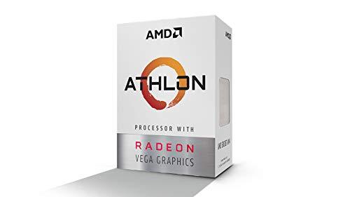 Amd Athlon 200ge 2-core 4-thread Am4 Socket Con Radeon Vega