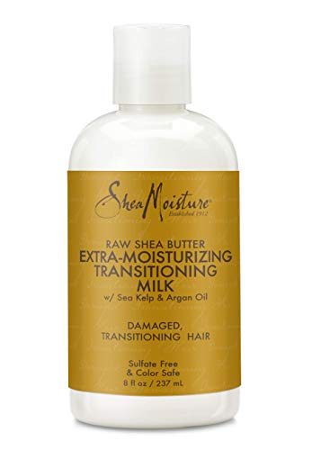 SheaMoisture Raw Shea Butter Extra-Moisture Transitioning Milk, 8 Ounce ()