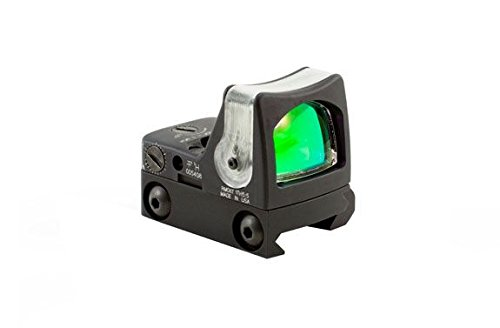 Trijicon RM08A-33 RMR 12.9 MOA Dual-Illuminated Amber Triangle Sight with RM33 Low Picatinny Mount