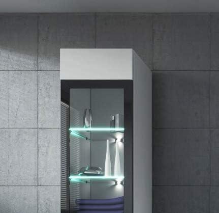 Badplaats LED Beleuchtung f/ür Spiegelschrank Hochschrank Leuchten Spiegelbeleuchtung 2p