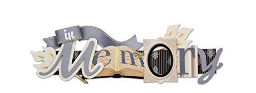 KAREN FOSTER In Loving Memory Stacked Statement 3-D Title Sticker-