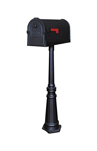 Savannah Curbside Mailbox with Tacoma Mailbox Post Unit by Special Lite Products