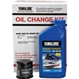 Yamalube Watercraft Oil Change Kit 1Ktt (10W40 Wv Qty3)