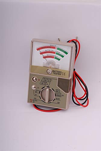 (Multifunctional Battery Tester Electronics Watch Button Cell Alkaline Lithium Silver Oxide Photo)