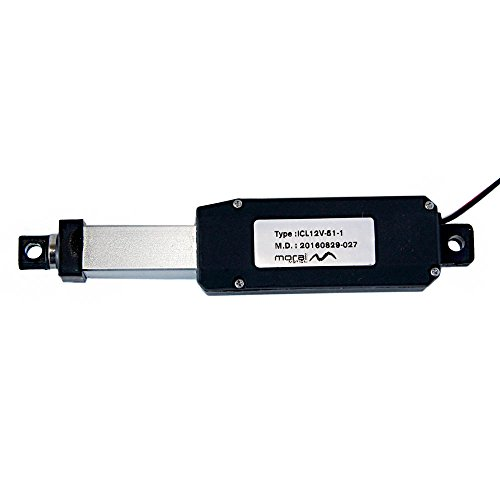 Morai Motion Micro Linear Actuator 12V DC for Miniature Home or Vehicle Automation 1 inch stroke - Linear Motion Actuators