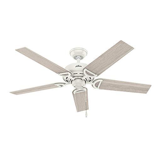 Hunter Fan Company 53417 Hunter 52'' Viola Fresh White LED Light Ceiling Fan by Hunter Fan Company (Image #2)