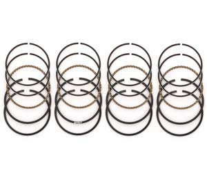Set of 4 Piston Ring Sets - Compatible with Honda CB750-1979-1983 by 4into1