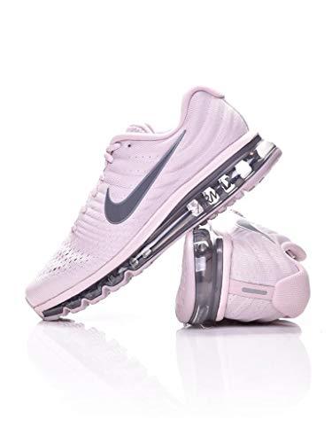Nike Air Max 2017 SE Mens Running Trainers AQ8628 Sneakers Shoes (UK 10 US 11 EU 45, Particle Rose Dark Grey 600) (Nike Air Max 2014 Pink And Grey)