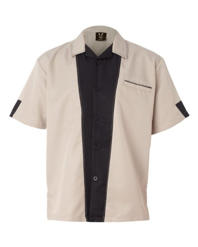 Hilton Hotels and Resorts Men's Full-Button Front Retro B...