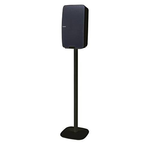Vebos floor stand Sonos Play 5 gen 2 black - vertical en optimal experience in every room - Allows you to place your SONOS PLAY 5 exactly where you want it - Two years warranty by Vebos