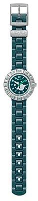 Flik Flak CA Tourne Green Dial Plastic Strap Boy's Watch ZFCSP064 from Flik Flak