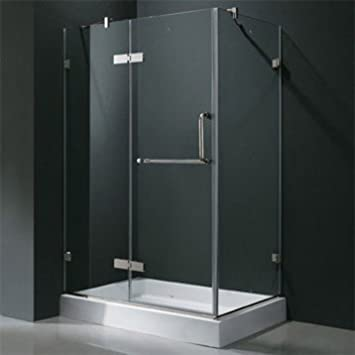 Amazon.com : Vigo Industries Frameless Rectangular Shower .