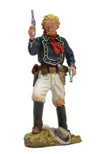 Collectible Toy Soldiers 1/32 Scale General George Custer US 7th Cavalry Black Hawk Custer