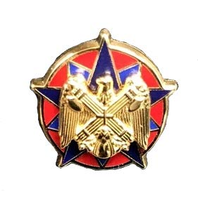 National Guard Bureau Identification Badge (LAPEL (National Guard Lapel Pin)
