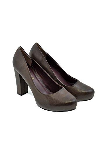 Multicolor Cafenoir Para De Vestir 41 Barro Mujer Zapatos HRqrXnH