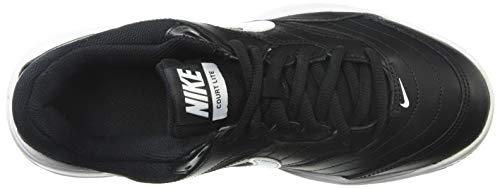 NIKE Men's Court Lite Athletic Shoe, Black/White/Medium Grey, 8.5 Regular US by Nike (Image #8)