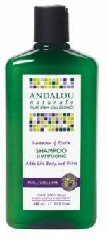 Andalou Naturals Full Volume Shampoo, Lavender & Biotin 11.5 Oz(1 Pack) (Andalou Lavender & Biotin Full Volume Shampoo)