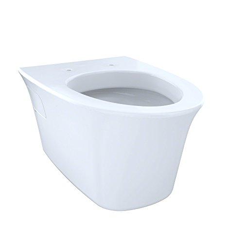 Wall Hung Bowl - Toto CT486FG#01 1.6-GPF and 0.9-GPF Maris Wall-Hung Dual-Flush Toilet