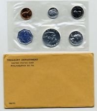 - 1960 P Proof US Mint Proof Set Original Government Packaging Proof