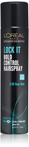 - L'Oreal Paris Advanced Hairstyle Lock It Bold Control Hairspray 8.25 Ounce